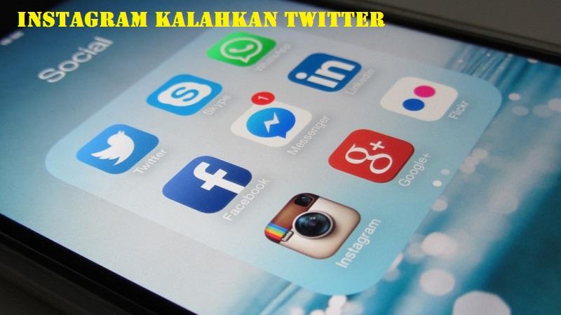 Instagram Kalahkan Twitter